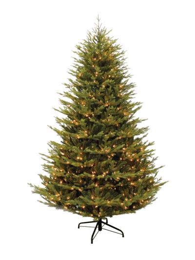 Festive - pre-lit grand Keswick pine tree - 180cm