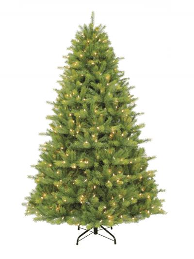 Festive - pre-lit Kensington fir tree - 180cm