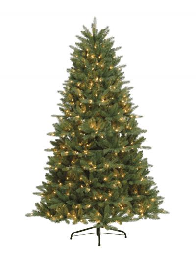Festive - pre-lit Bryson spruce tree - 210cm
