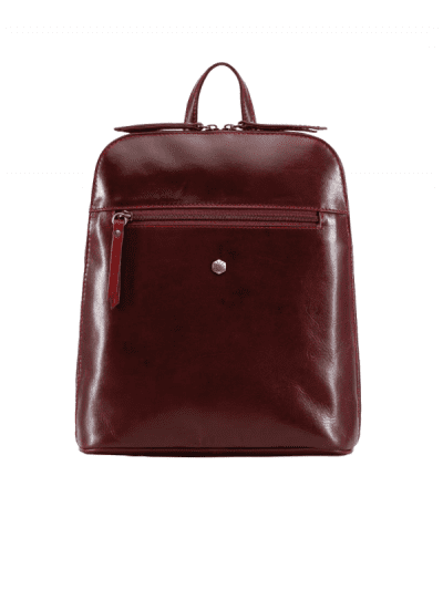 Jekyll & Hide - slim ladies backpack - rust