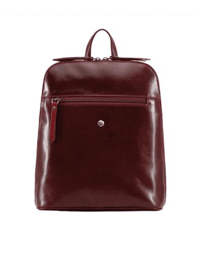 Jekyll & Hide - slim ladies backpack - rust