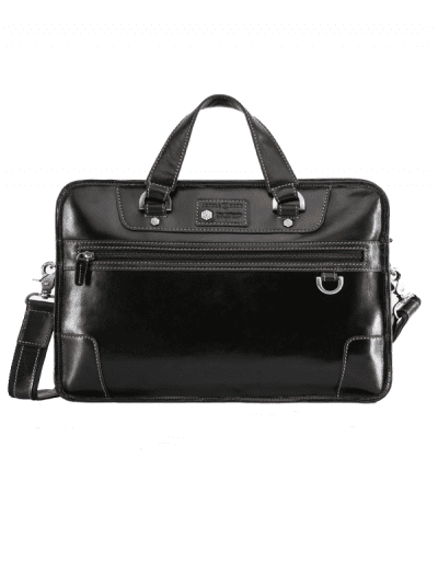 Jekyll & Hide - medium laptop briefcase - black