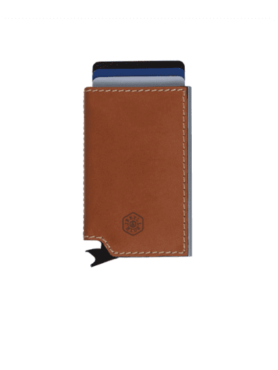 Jekyll & Hide - slide wallet - tan