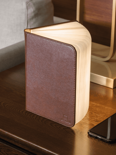 large brown book light in home