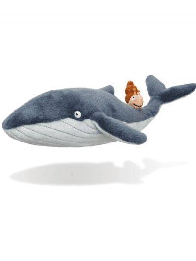 Snail & the Whale - soft toy