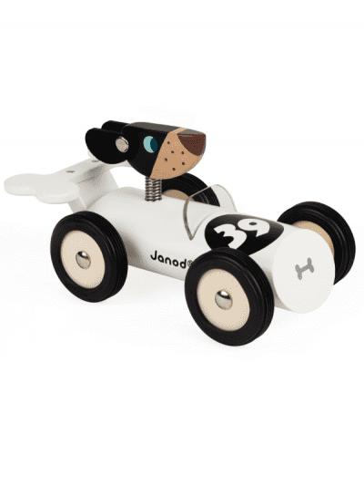 janod - Bernard wooden racing car toy