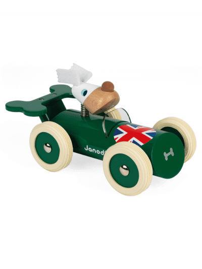 janod - Richard wooden racing car toy