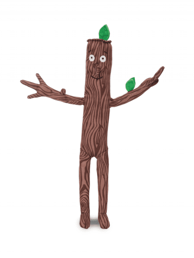 Julia Donaldson - stickman soft toy
