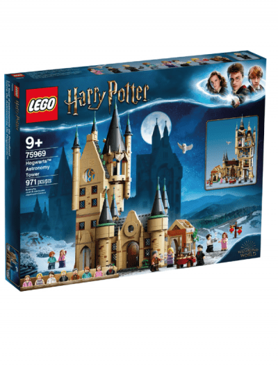 Lego Harry Potter - astronomy tower