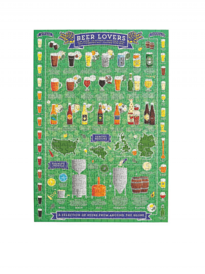 Wild & Wolf beer lovers jigsaw puzzle