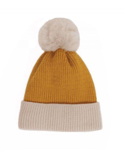 Powder hat - mustard