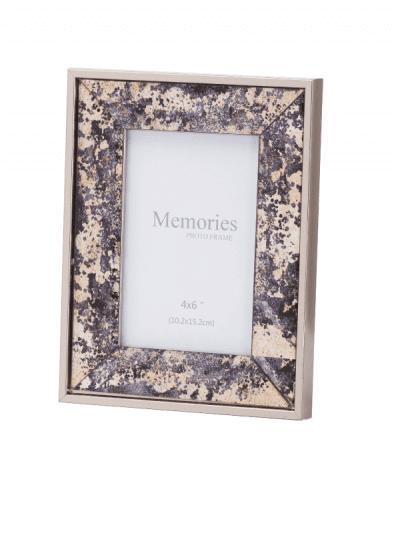 Hill interiors - bronze foil metallic frame - 4x6