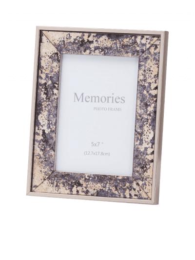 Hill interiors - bronze foil metallic frame - 5x7
