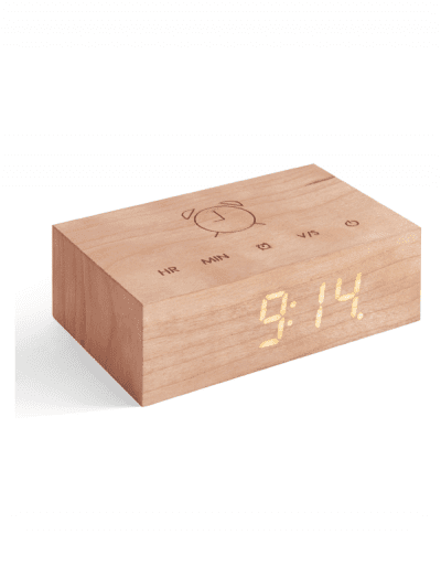 Gingko - flip clock - cherry