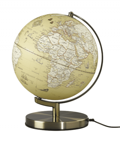 Wild & Wolf vintage globe light
