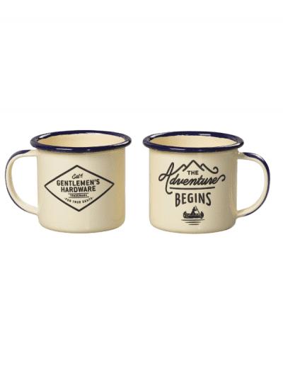 Gentlemans Hardware - enamel mug set