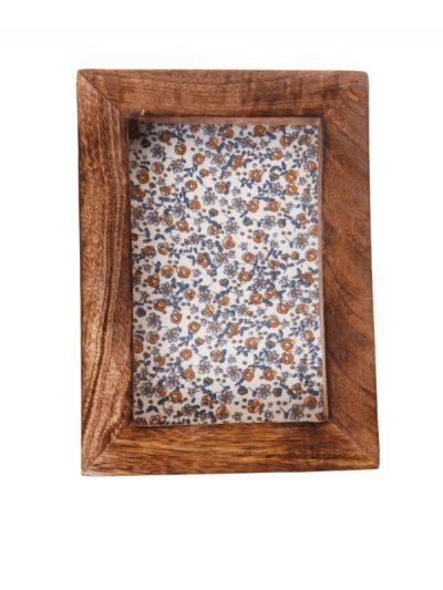 Sass & Belle dark wood photo frame