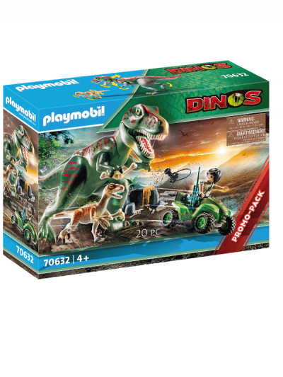 Playmobil - t-rex attack
