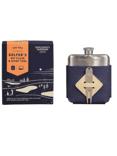 Gentlemans Hardware - golfers hip flask