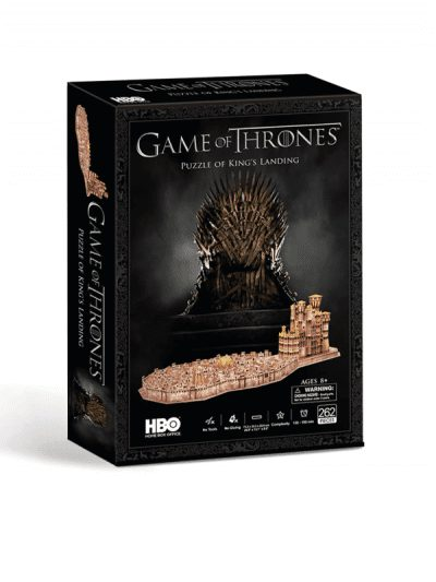 Game of Thrones 3d puzzle - kings landing