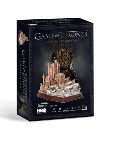 Game of Thrones 3d puzzle - red keep