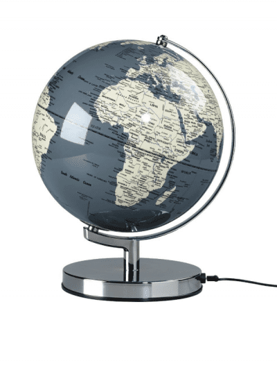 Wild & Wolf grey globe light