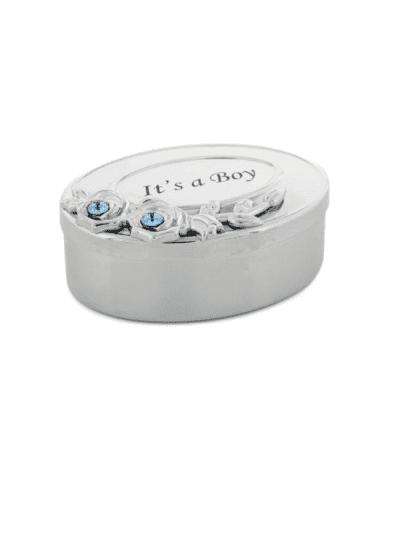 Widdop & Co - Swarovski crystal box - its a boy