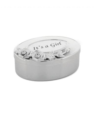 Widdop & Co - Swarovski crystal box - its a girl