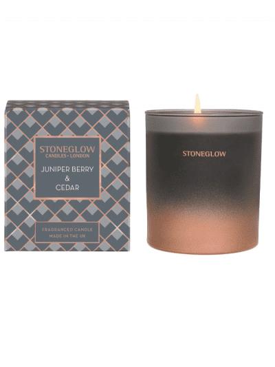 StoneGlow - juniper & cedar candle