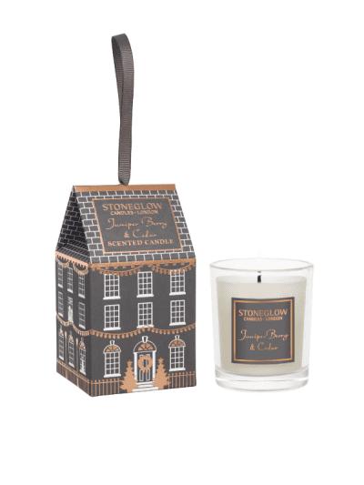StoneGlow - juniper & cedar mini gift candle