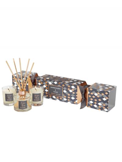 StoneGlow - juniper & cedar cracker gift set