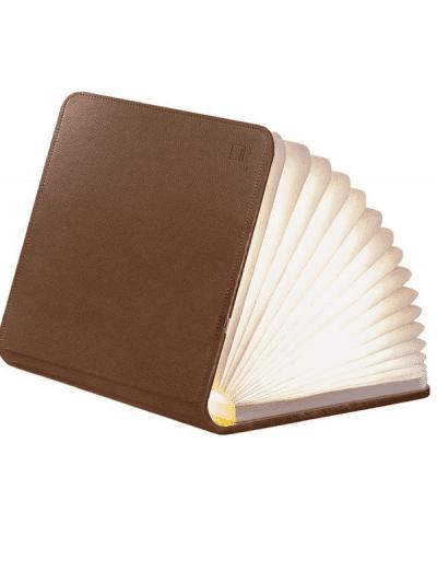Gingko - large smart book light - brown