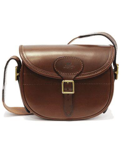 Marlborough of England medium brown leather bag