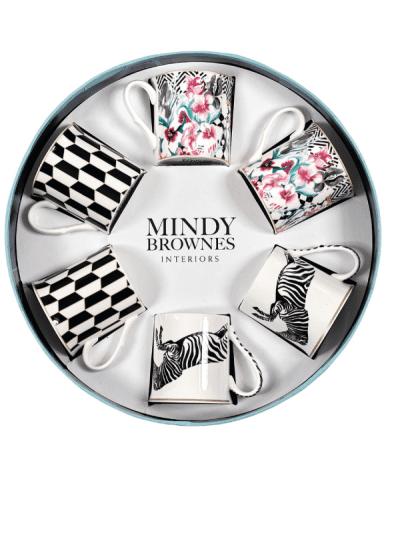 Mindy Browne - circus frenzy mug set