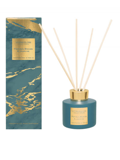 StoneGlow - papyrus woods & jasmine reed diffuser
