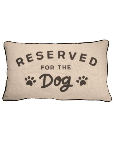 Sass & Belle reserved for the dog cushion