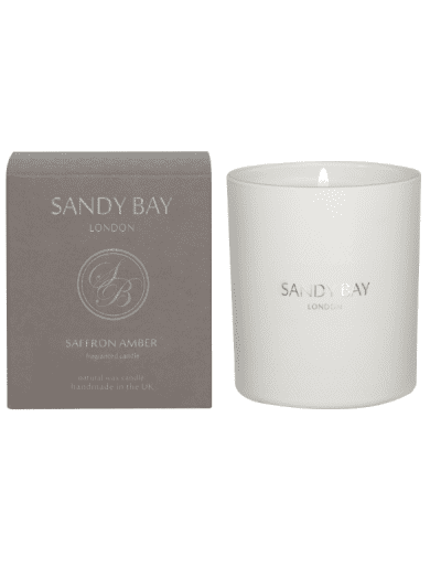 Sandy Bay - saffron amber candle
