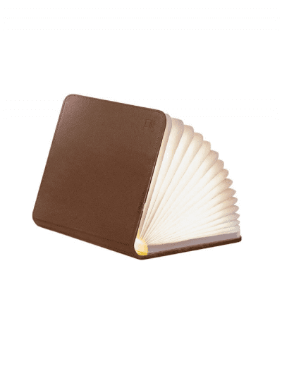 Gingko - smart book light - brown