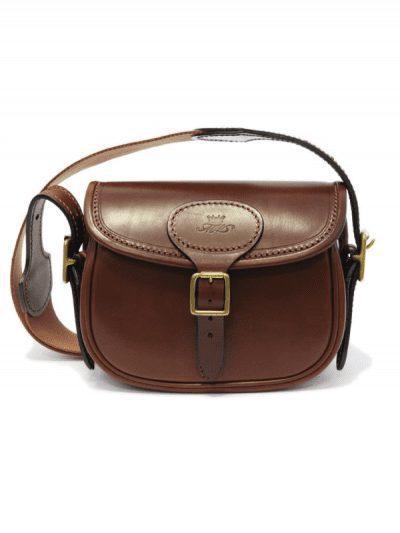 Marlborough of England small brown leather bag