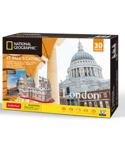 National Geographic 3d puzzle - st pauls cathedral
