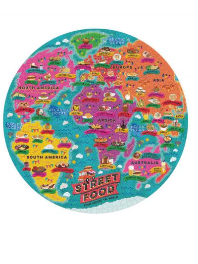Wild & Wolf street food jigsaw puzzle