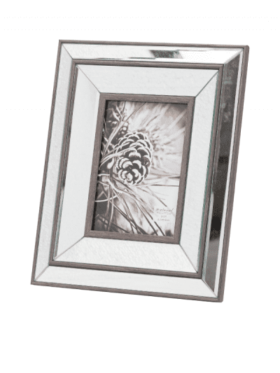 Hill interiors mirror photo frame - 4x6