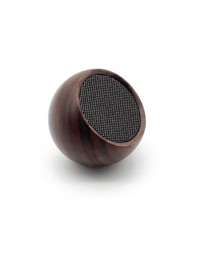 Gingko - selfie speaker - walnut