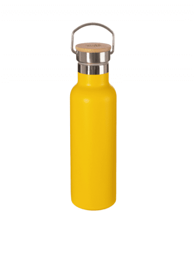 Sass & Belle bright yellow water bottle