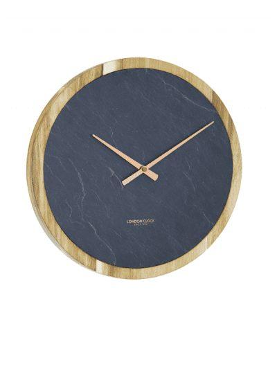 London Clock - circular carbon wall clock