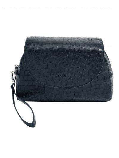 Stackers - navy make up bag