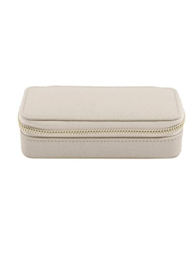 Stackers - travel jewellery box - taupe