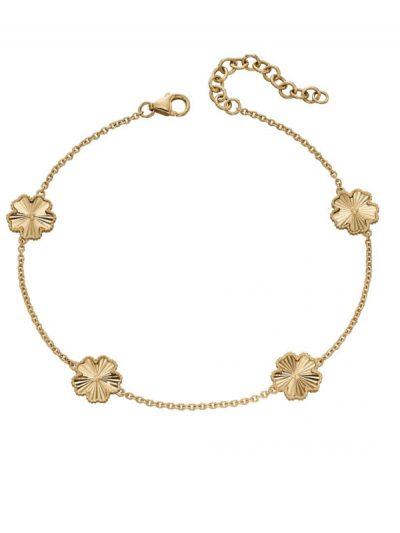 Elements Gold - flower bracelet