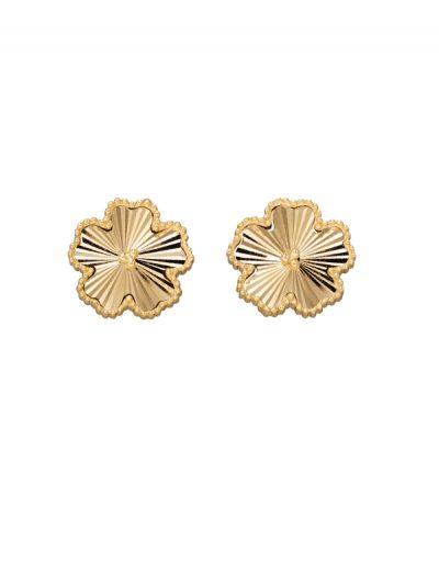 Elements Gold - flower stud earrings