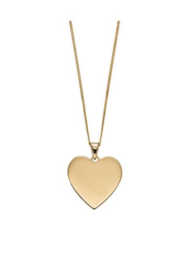 Elements Gold - heart pendant